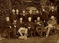 Staff of General Infirmary and Eye Institution, Gloucester. Wellcome V0027649.jpg