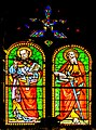 Stained-glass windows of the St Gerald abbey church of Aurillac 03.jpg