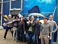Starfish WMF team at CAL Academy of Sciences.jpg