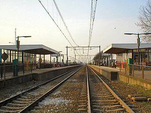 Elst railway station