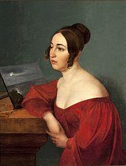 Portrait of Hortensja Sobańska née Jełowicka.