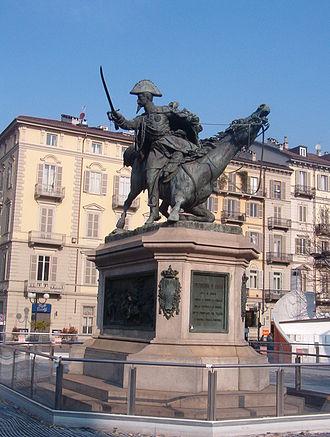Prince Ferdinando, Duke of Genoa (1822–1855) - Statute of Ferdinand of Savoy, by Alfonso Balzico, Turin, 19th century.