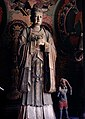 Statue of Hariti (鬼子母 Guizimu) in Shanhua Temple (善化寺 Shànhùasì) in Datong, Shanxi Province, China.jpg