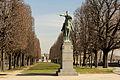 Statue of Simón Bolívar, Paris 6 March 2015.jpg