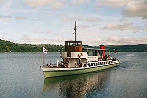 MY Raven - Image: Steam ferry 'Raven' approaching Howtown Pier, Ullswater geograph.org.uk 2040276