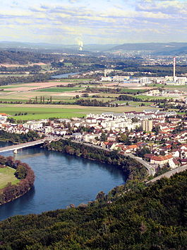 Stein and the Rhine River