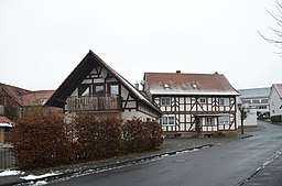 Dorfstraße in Burghaun