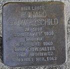 Stolperstein für Richard Schwarzschild