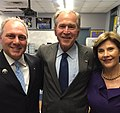 Steve Scalise with George and Laura Bush.jpg
