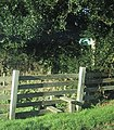 Stile for the footpath near Yawl - geograph.org.uk - 1072431.jpg