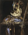 Still Life with Hunting Gear (Willem van Aelst) - Nationalmuseum - 17251.tif