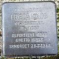 Stolperstein Delmenhorst - Frieda König (1897).JPG
