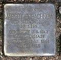 Stolperstein Landshuter Str 8 (Schön) Margot Schachnow.jpg