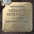 Stolperstein Pariser Str 10 (Wilmd) Margarete Mecklenburg.jpg