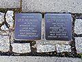 Stolpersteins Otto Neumann, Betty Neumann, Nordstraße 1, Troisdorf.jpg