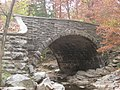 Stone Arch Bridge over McCormick's Creek, eastern side from southeast, closeup.jpg