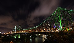 Story Bridge, Brisbane at night