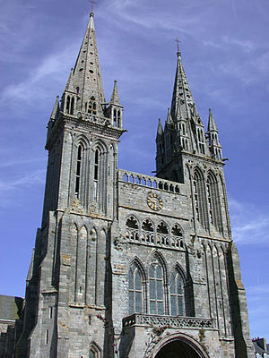 Saint-Pol-de-Léon - The Saint-Paul-Aurélien Cathedral