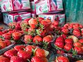 Strawberries packed in Punnets (14391808157).jpg