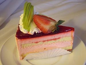 Strawberry cake - Image: Strawberry Cake