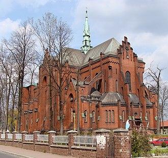 Dąbrowa Górnicza - Church in Strzemieszyce Wielkie