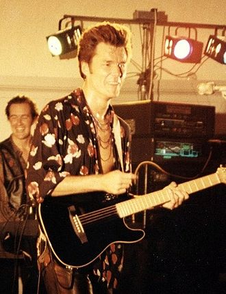 Stuart Adamson - Stuart Adamson performing in August 1991.