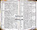 Subačiaus RKB 1832-1838 krikšto metrikų knyga 143.jpg