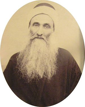 Subh-i-Azal - Ṣubḥ-i-Azal at the age of 80, unknown photographer, Famagusta, 1911 circa.