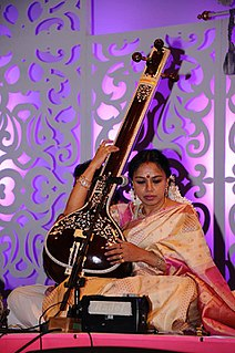 Sudha Ragunathan Indian Carnatic classical vocalist