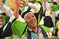 Sugichan to dance in the Tokushima Awa dance festival. Aug. 13, 2016.jpg