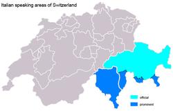 Languages Of Switzerland - Languages map of switzerland
