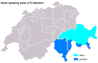 Swiss Italian - Image: Suisse italiene