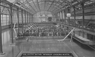 Adolph Sutro - Image: Sutrobaths 1894 lookingnorth
