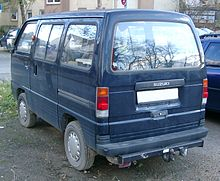 Suzuki Super Carry rear 20071114.jpg