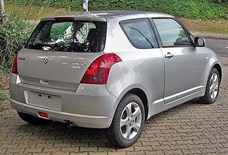 Suzuki Swift - 3-door hatchback