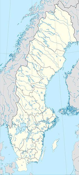 Voir la carte administrative de Suède
