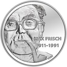 max frisch auf der 20 franken gedenkmnze der schweiz 2011 - Max Frisch Lebenslauf