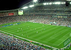 Stadium Australia, the primary sporting arena for the country.