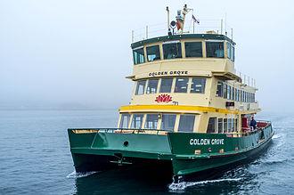 Sydney Ferries - Golden Grove on Port Jackson