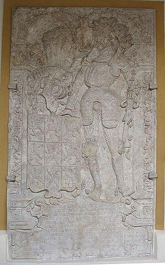 Barnim III, Duke of Pomerania - Barnim III's tomb, Pomeranian Dukes' Castle, Szczecin (Stettin)