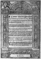 """T. Rocha """"Digna redargnito..."""", 1523; title page Wellcome M0008053.jpg"""