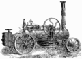 T1- d419 - Fig. 215. — Locomobile Fouler pour le labourage à vapeur.png