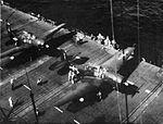 TBM-3E Avengers of VT-18 aboard USS Leyte (CV-32) in 1946.jpg