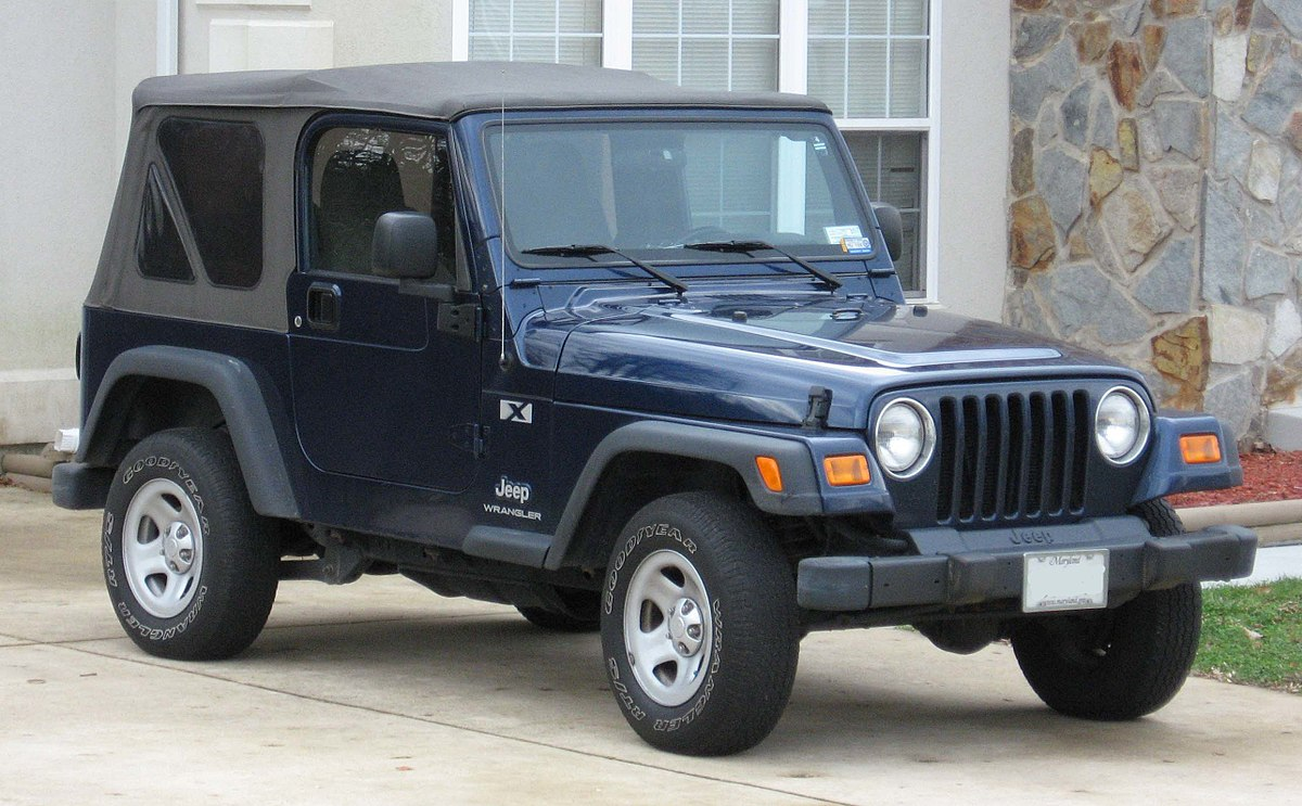 jeep wrangler (tj) wikipediaModified Power Wheels Offroad Metal Framed Jeep With Suspension #20