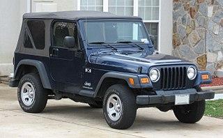 Jeep Wrangler (TJ) Motor vehicle