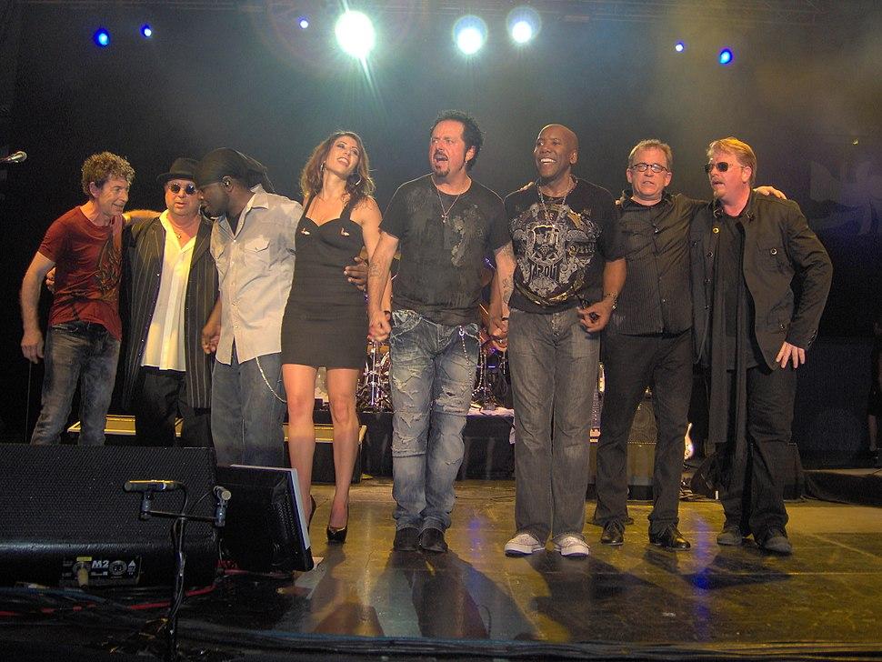 TOTO live 2010 in Copenhagen in KB Hallen