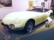 2000GT used in the James Bond film, You Only Live Twice