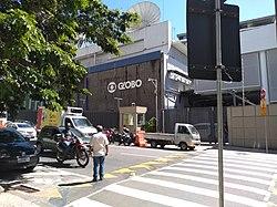 e02bb2026 Sede da emissora no Rio de Janeiro.