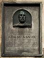 Tablica pamiatkowa Adam Asnyk Kraków.jpg