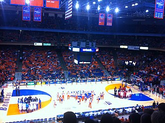 Taco Bell Arena - Basketball vs. New Mexico in January 2013